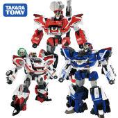 日本TOMY多美卡极速救援警察救护消防车变形汽车机器人金刚玩具