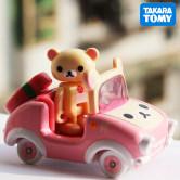 TOMY多美卡小汽车合金车模型来动公仔车轻松熊妹妹汽车玩具
