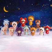 ddung冬己迷糊娃娃玩具十二星座换装娃娃女孩公主情人节儿童礼物