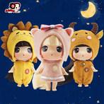 ddung冬己迷糊娃娃十二星座换装娃娃十二生肖洋娃娃三只组合套装