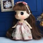 冬己香槟迷糊娃娃女孩公主洋娃娃可爱萌娃玩偶公仔送女友生日礼品