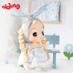 ddung/冬己兔耳朵迷糊娃娃 女孩DIY换装洋娃娃 生日送礼公仔摆件