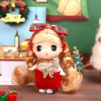 DDUNG冬己公主 圣诞换装娃娃 迷你可爱公仔 周边摆件 情人节礼物