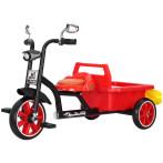 儿童三轮车双人带斗后斗后筐宝宝脚踏车2-3-6岁童车双人玩具