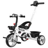 儿童三轮车脚踏车1-3-2-6岁大号儿童车子宝宝婴幼儿小孩3轮车童车