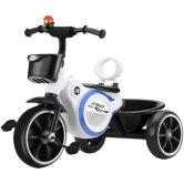 儿童三轮车脚踏车带音乐1-3-2-6岁大号轻便宝宝自行车手推车童车