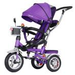 溜娃神器儿童三轮车脚踏车1-2-6岁宝宝婴幼儿手推车小孩大号童车