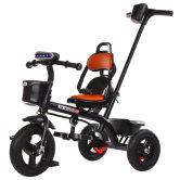 音乐儿童三轮车宝宝婴儿手推车幼儿脚踏车1-3-5岁小孩童车自行车