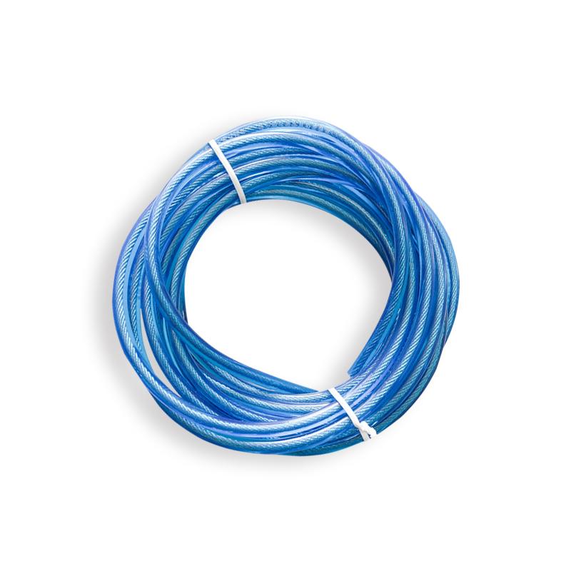 菲普莱跳绳中考备用钢丝绳考试训练中小学生pu单绳4mm 毫米备用绳