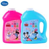 迪士尼泡泡水补充液浓缩泡泡液儿童全自动吹泡泡机电动泡泡枪玩具