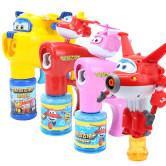 超级飞侠儿童电动泡泡枪玩具手动全自动不漏水吹大泡泡机器泡泡水