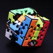 三阶齿轮魔方实色免贴纸 3阶高难度顺滑不规则益智齿轮异形魔方
