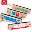 木质16孔口琴玩具儿童婴幼儿2男女孩吹响小孩3-6岁口风琴吹奏乐器