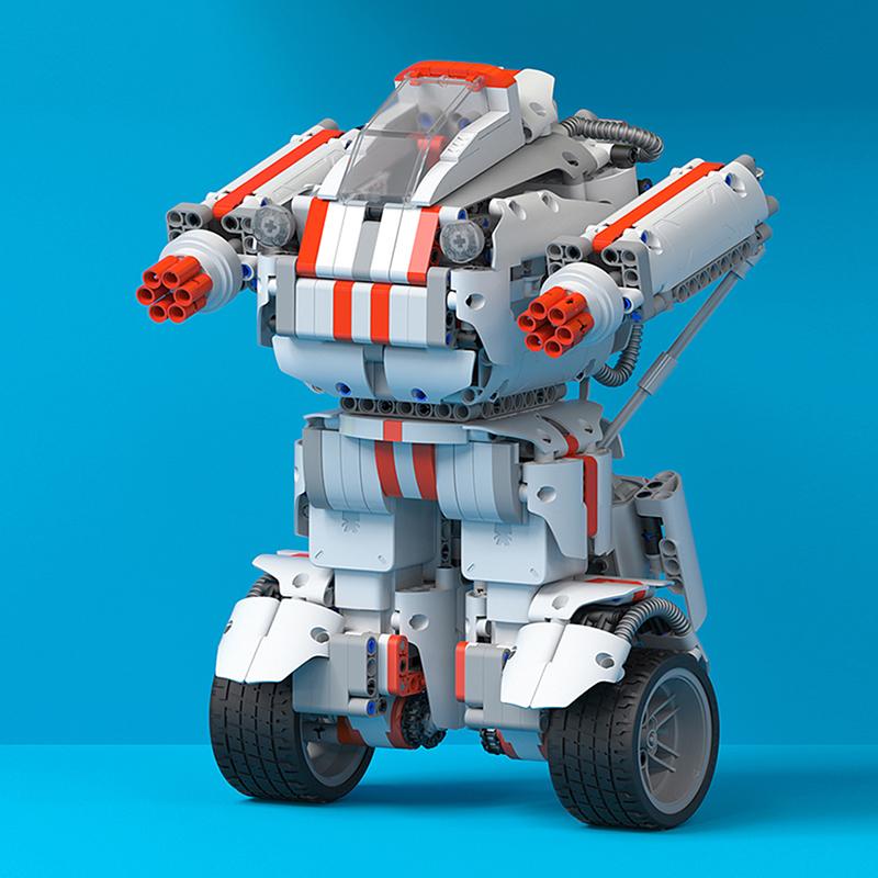 小米米兔积木机器人拼插拼接智能拼装电动儿童男孩女孩玩具