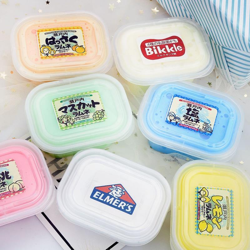 起泡胶材料小学生网红自制起泡胶便宜果酱套装少女大盒儿童便宜5