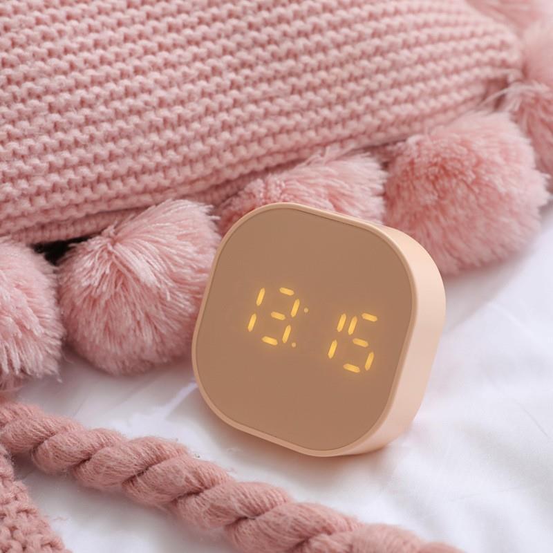 创意闹钟学生电子静音简约小闹钟智能儿童多功能起床神器卧室宿舍