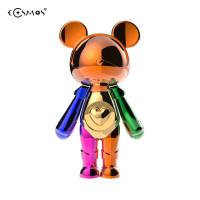 星际熊拼色摆件玩具生日礼物精美礼品人偶公仔手办创意家居潮玩熊